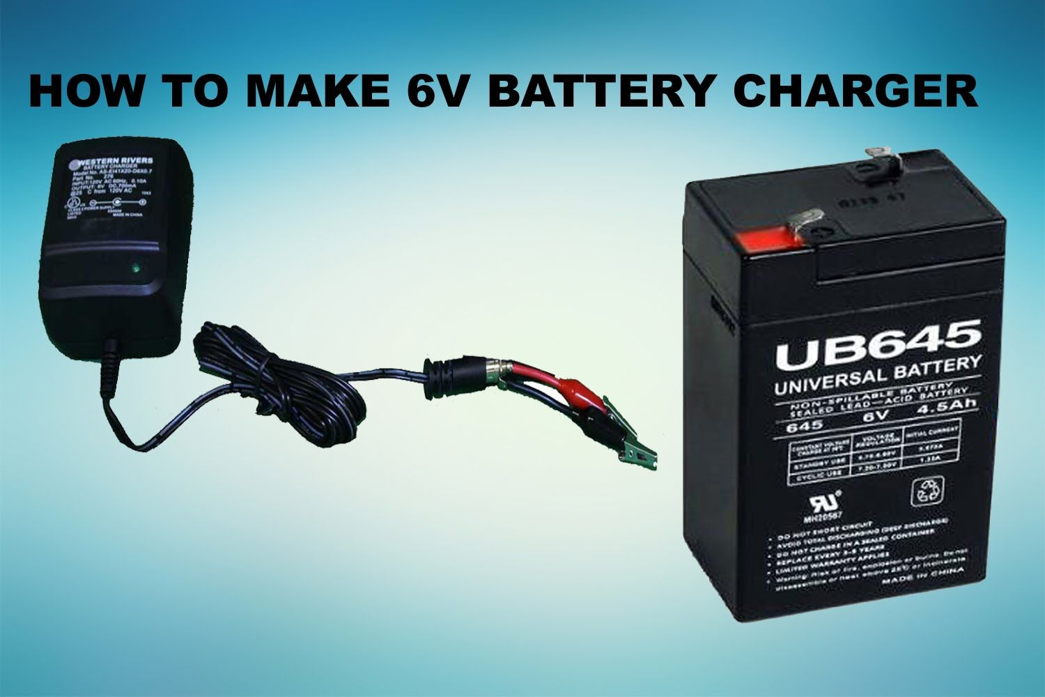 How To Make 6v Battery Charger Battery Charger Circuit Charger Battery Charger