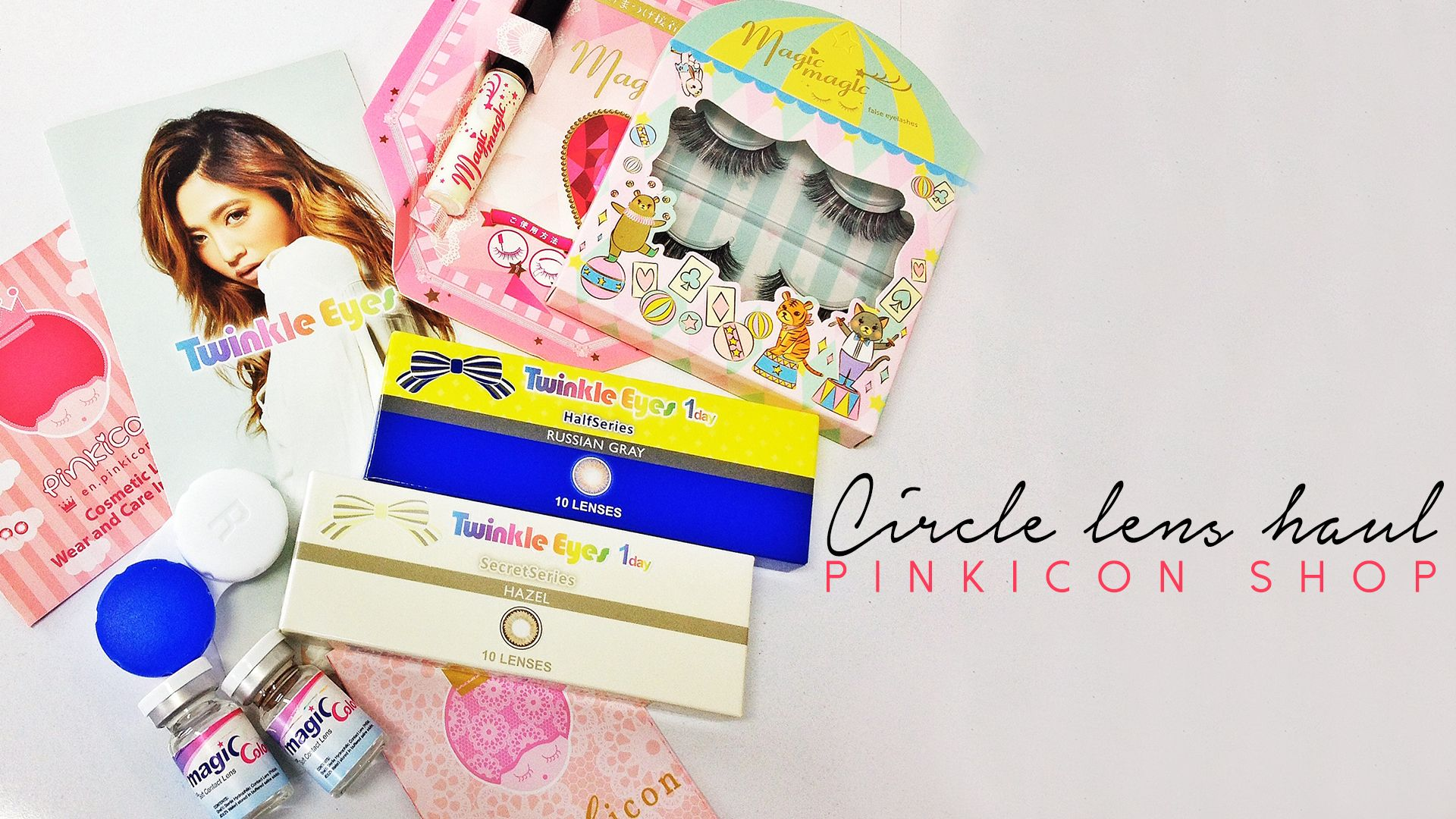 CIRCLE LENS REVIEW | PINKICON TWINKLES EYES GEO
