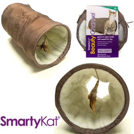 SmartyKat - Beauty Channel Groom Tunnel $7.99 @ 13 Deals - HotDeals For the hottest deals check us out at www.hotdeals.com or on FB! www.facebook.com/hotdealscom