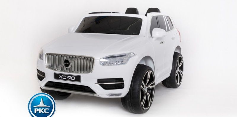 Niños 12v Xc90 Infantil12vBlancoCoches Para Volvo ul1JF35TKc