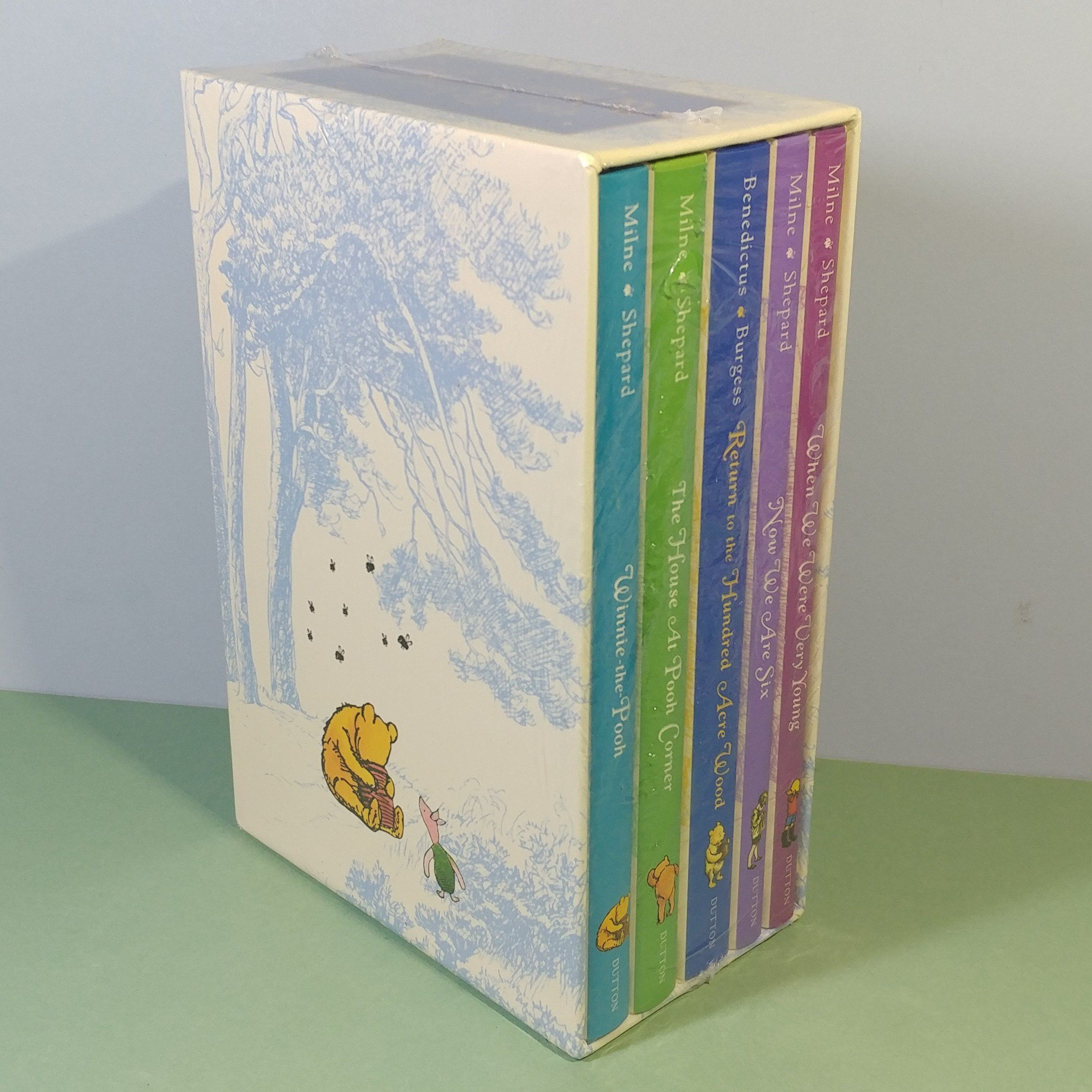 Deluxe 5 Volume Book Set The World Of Winnie The Pooh By A A