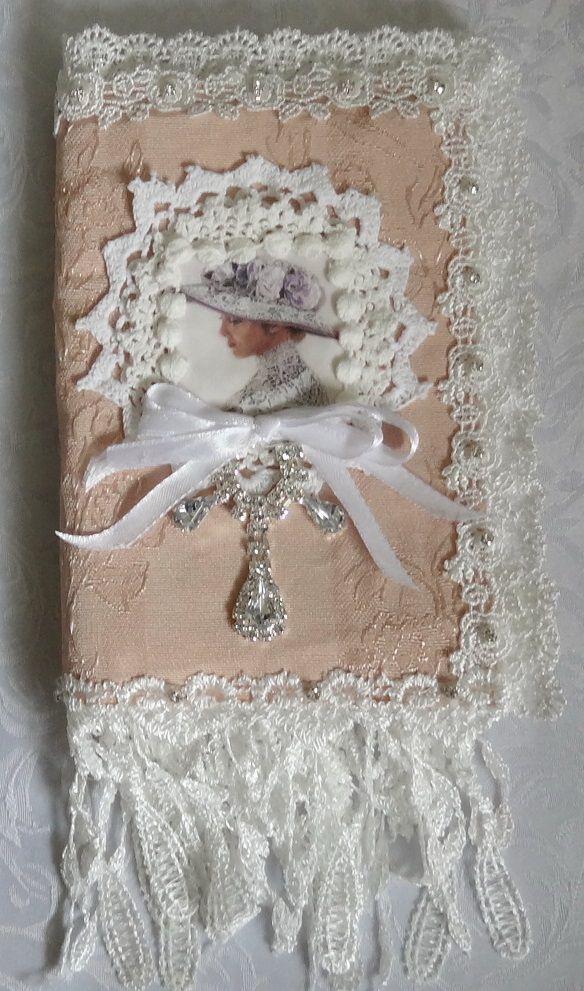 Shabby Chic Fabric Image Folder
