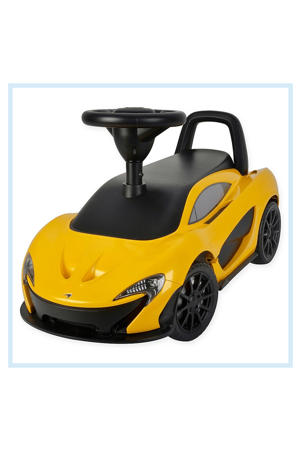 Photo of Best Ride On Cars Mclaren Push Car In Yellow