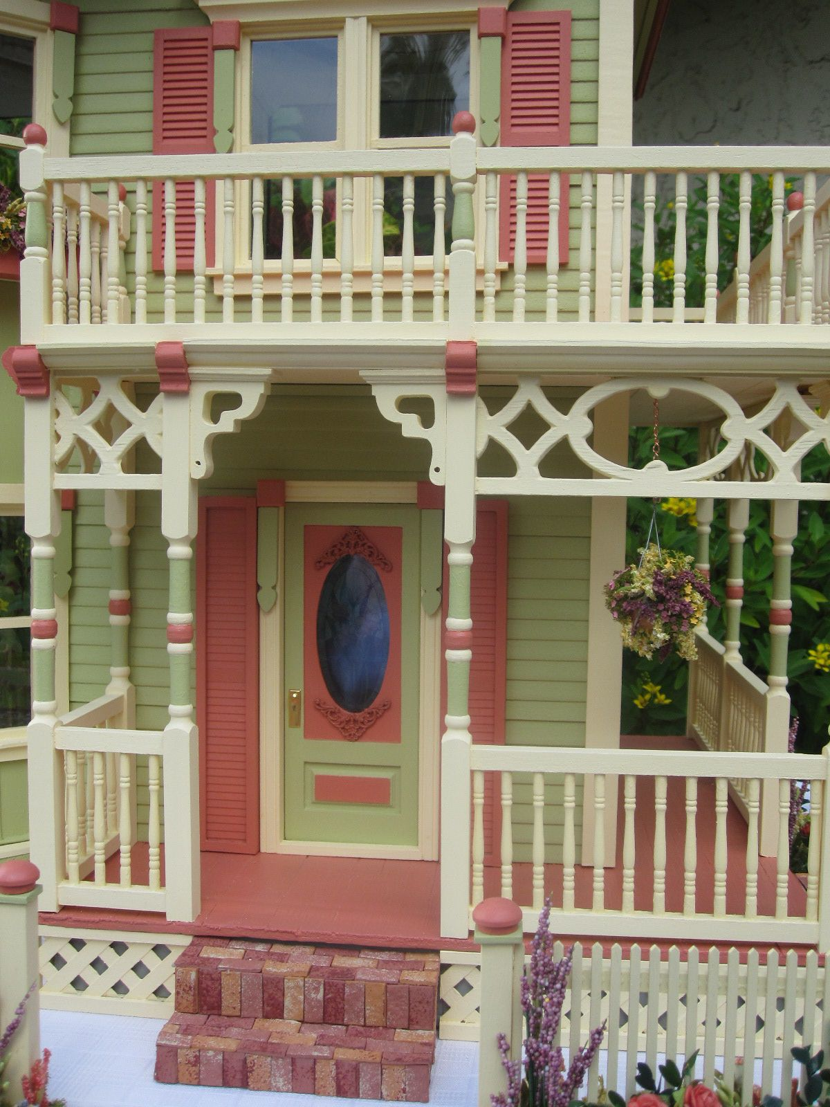New Gothic Victorian Dollhouse Greenmamahk Store Magecloud Net