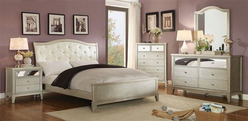 CM7282 ADELINE BED SET Full size bed frame$292 Queen bed frame $369