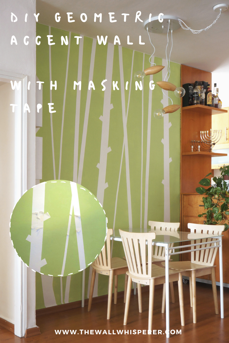 Bamboo accent wall   DIY faux wallpaper home decor project ...