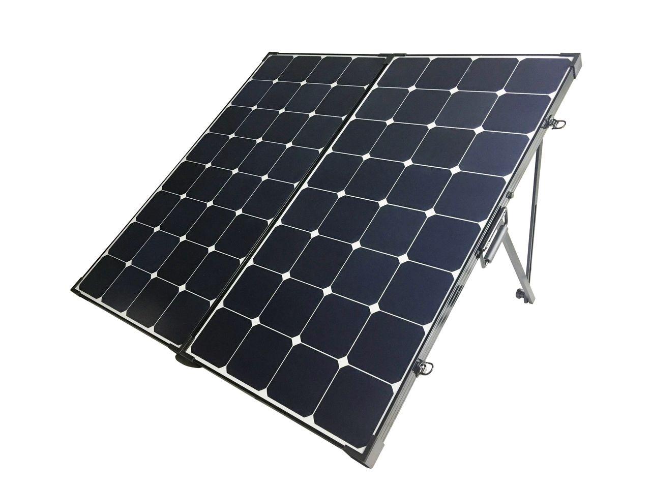 200 Watt Eclipse Monocrystalline Solar Suitcase Solar Panels Best Solar Panels Solar