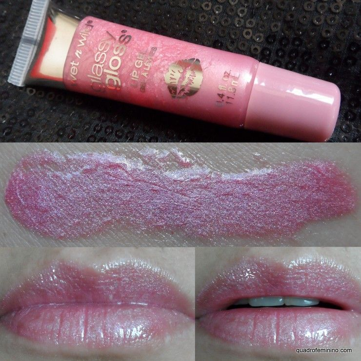 Wet n Wild Glassy Gloss Lip Gel - Glass Confusion 311A