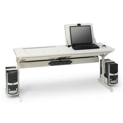 "Bretford SmartDeck 66"" W  x 24"" D Training Table Color:"