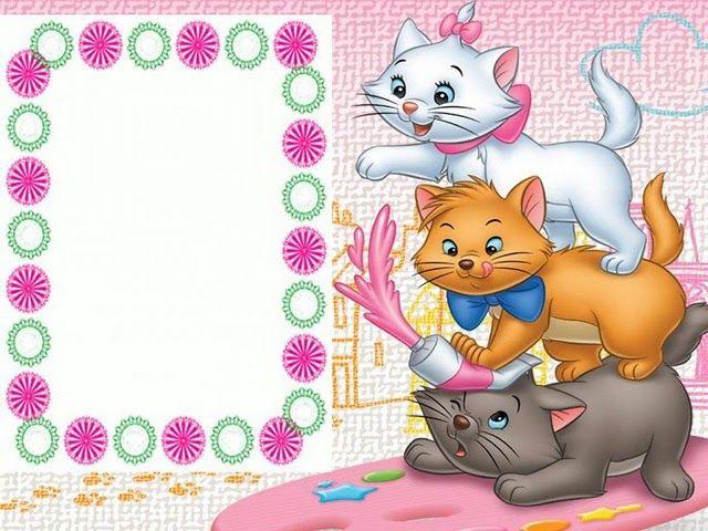 MARCOS INFANTILES ANIMADOS - Imagui   Frames   Pinterest   Scrapbook