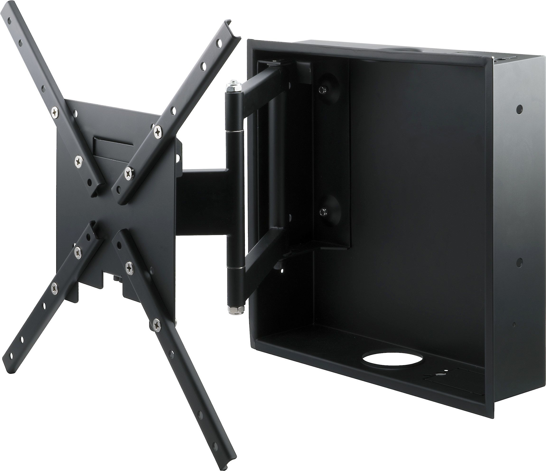 Metra Helios Fm44iw Full Motion Recessed Wall Mount With Articulating Arm For 32 60 Tvs Boss Birthday Gift