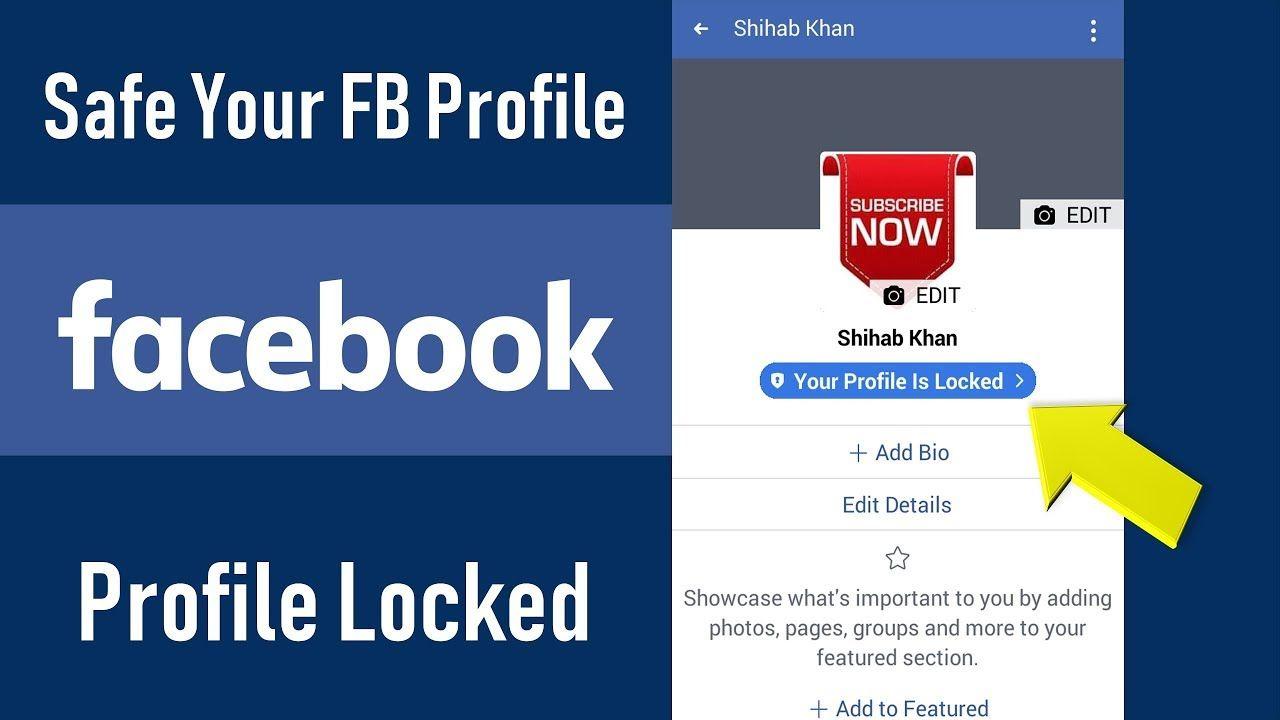 Facebook Profile Lock   How To Lock Facebook Profile 2018