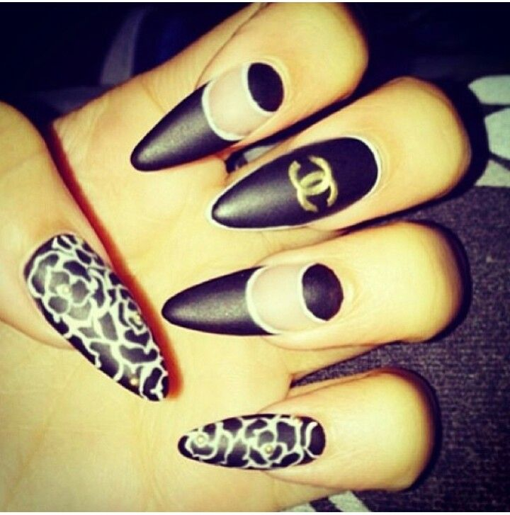 45+ Fearless Stiletto Nails - 45+ Fearless Stiletto Nails Dope Nails, Nail Nail And Nails Games