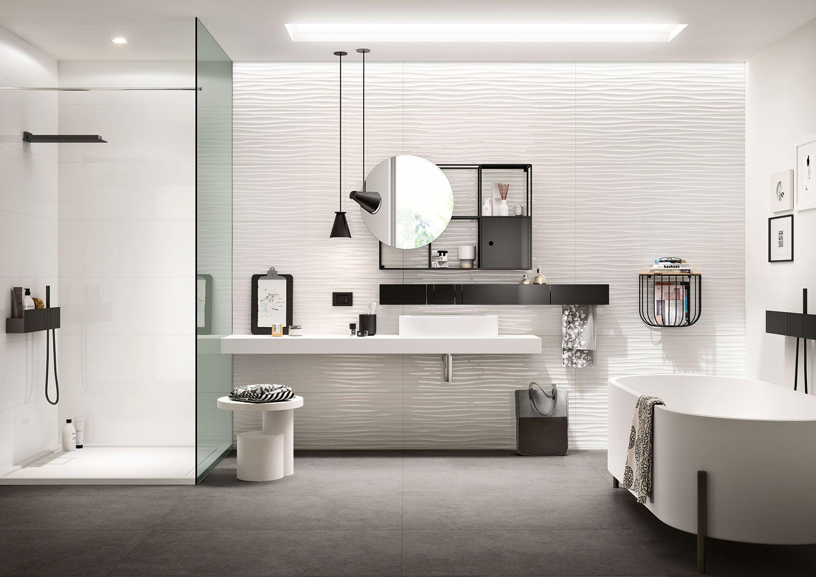 Marazzi Essenziale Lux 40x120 Cm Mmfk Feinsteinzeug Einfarbig 40x120 Im Angebot Auf Bad39 De 5 Badezimmer Design Badezimmer Dekor Modernes Badezimmer