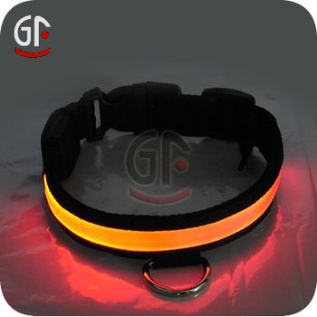 Pet Collars With Flashing Led Lights, View Pet Collars With Flashing Led Lights, GF Product Details from Shenzhen Greatfavonian Electronic C...