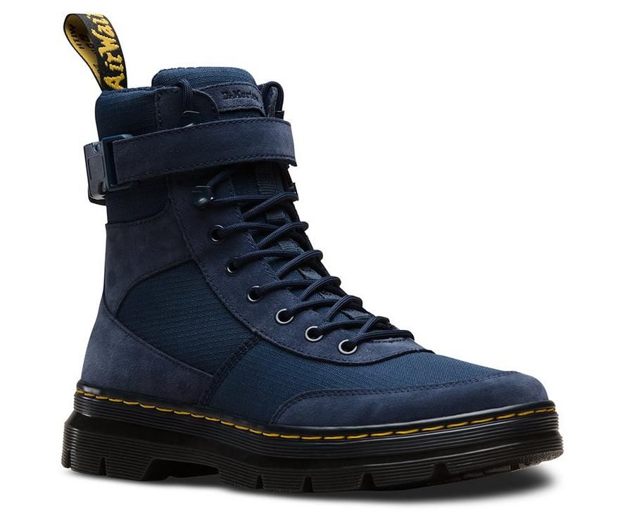 Dr martens combs tech with images mens suede boots