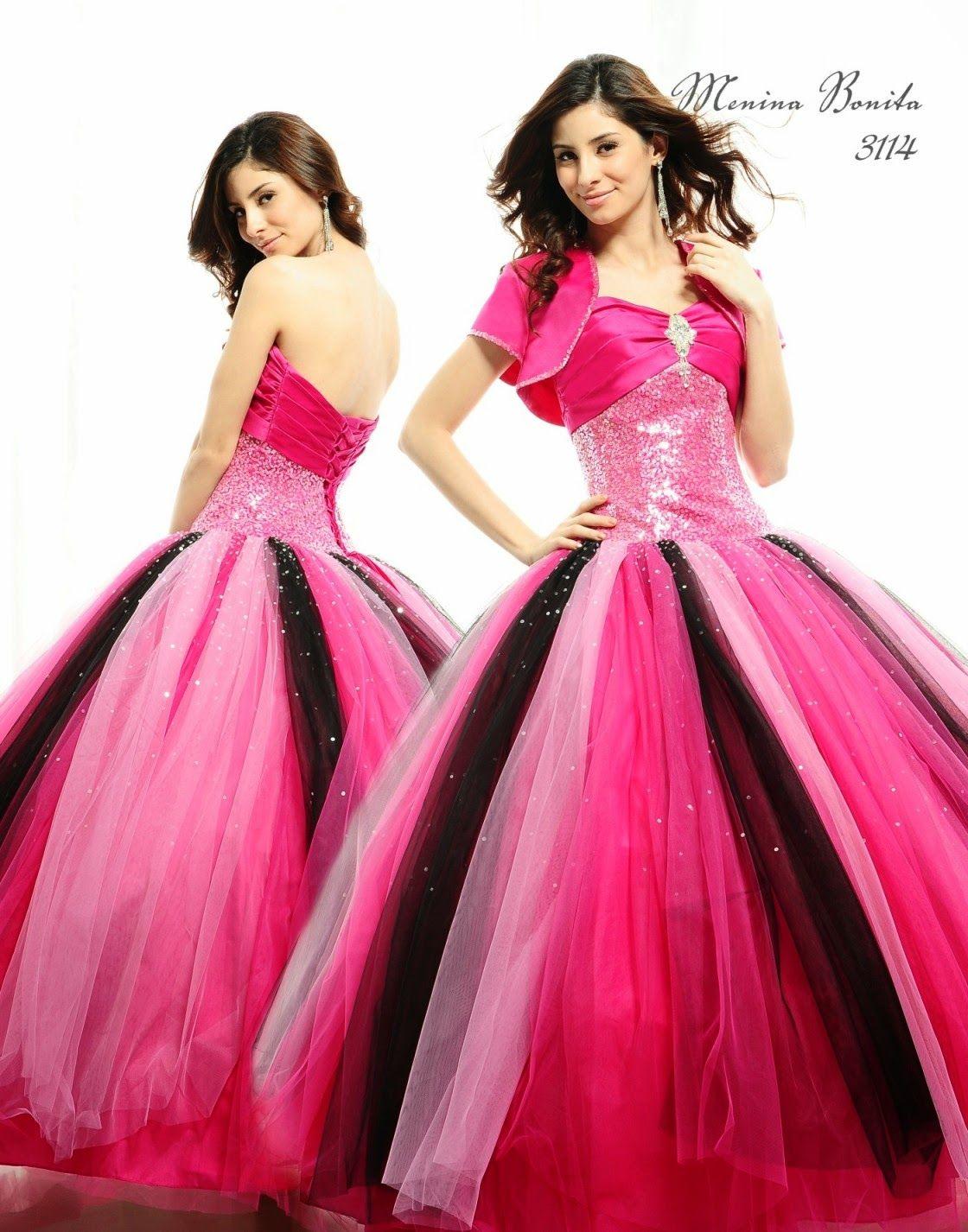 Hermosos vestidos de 15 años | Colección Fiesta | Vestidos para mis ...