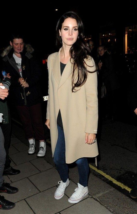 Lana Del Rey Looking Comfy in her Chucks! Shop Converse Collection