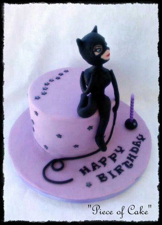 Catwoman cake Piece of Cake Pinterest Cake