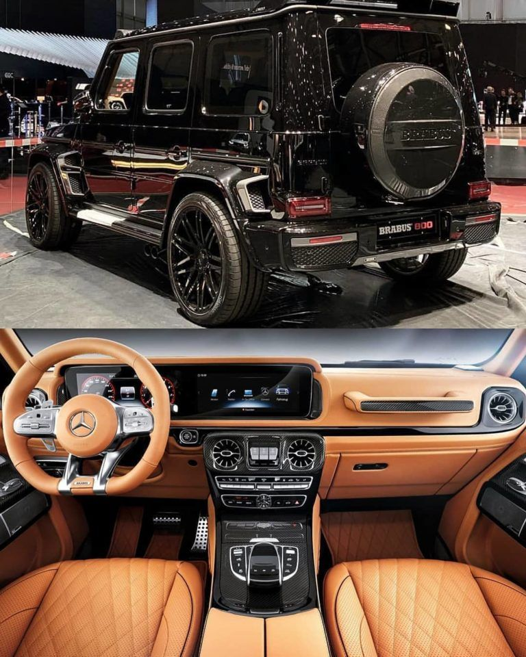 Mercedes Benz Brabus G800 Follow Uber Luxury For More Courtesy