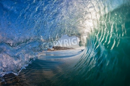 Inside The Wave Wallpaper Mural Waves, Murals your way