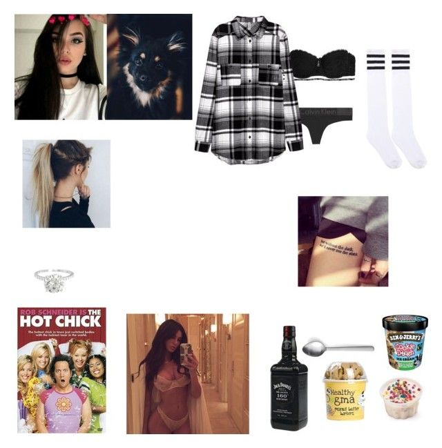 """""""Watching:The Hot Chick"""" by marie829 ❤ liked on Polyvore featuring Calvin Klein Underwear and Menu"""