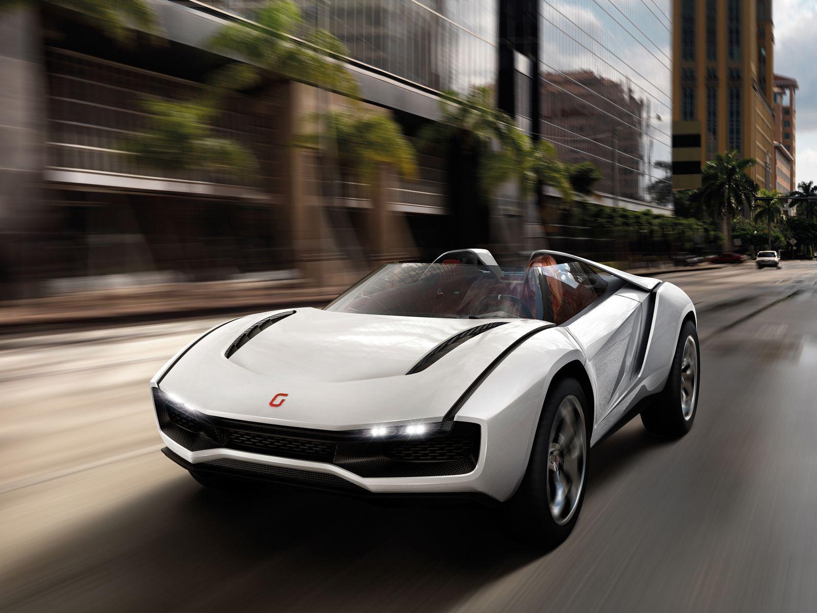 2013 Italdesign Giugiaro Parcour Roadster Concept cars