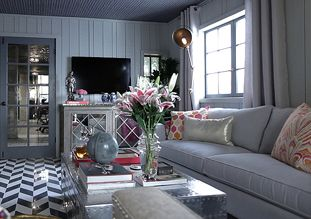 Pinkristin Meyer On Interior Design  Whites Greys Greens Entrancing Jeff Lewis Bedroom Designs Inspiration