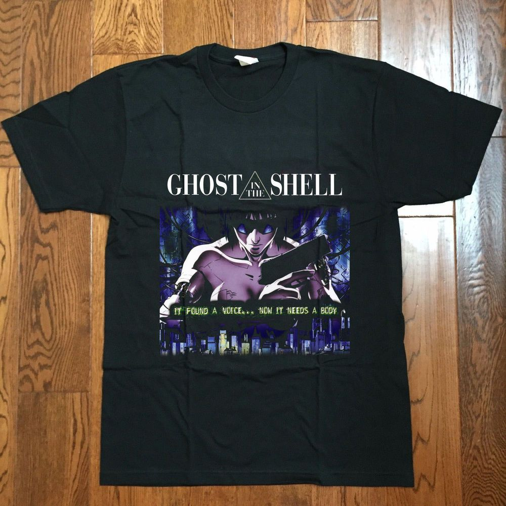 Ghost in the shell vintage reprint 80s manga anime tshirt