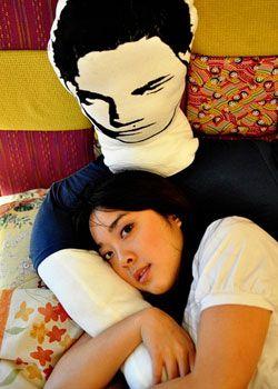 Beyond creepy. I mean... c'mon Twilight fans.... let's be reasonable.