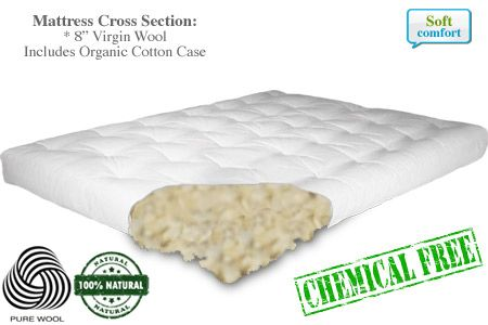 Chemical Free All Natural Wool Futon Mattress Nice Alternative To Home Made But Still Out Of My Price Range Ms
