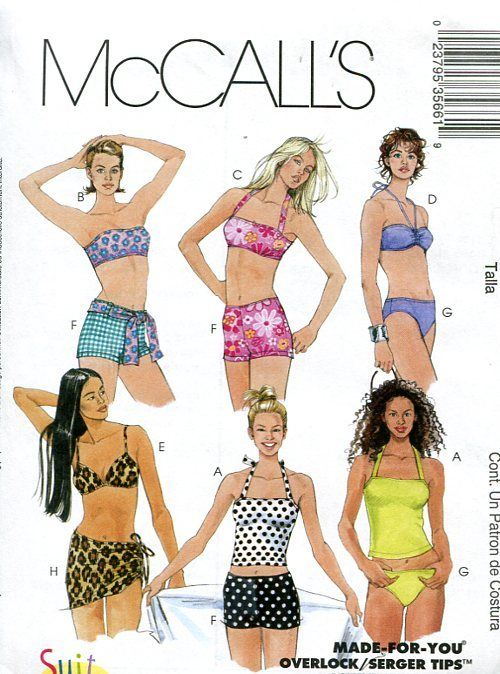 372c37ad05c 2002 McCall's bathing suits | 2000 reloaded. in 2019 | Swimsuit ...