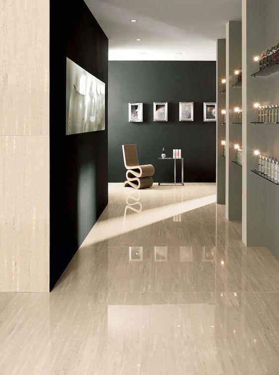 arredamento marmo chiaro | Soggiorno di lusso, Arredamento ...