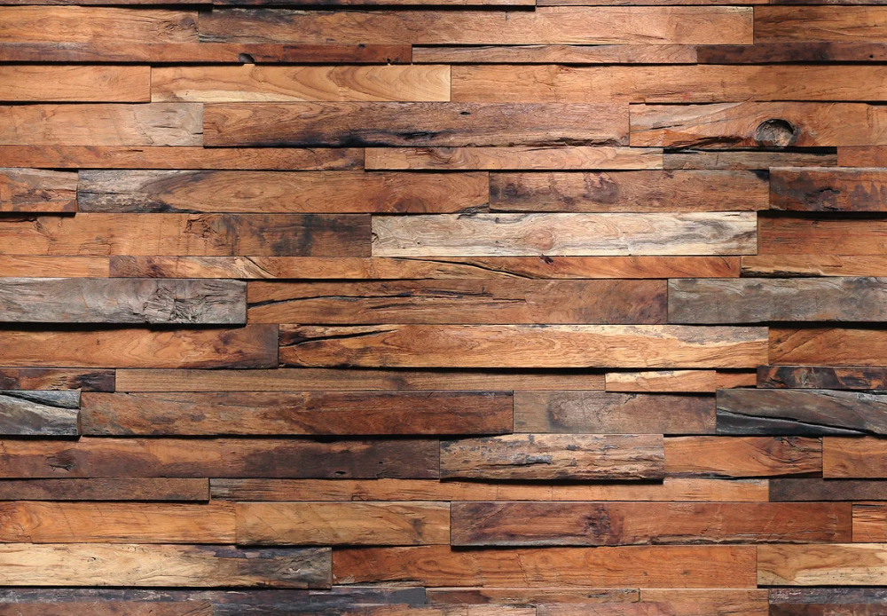 Union Rustic Munos Reclaimed 8 4 L X 144 W 8 Panel Wall Mural Wood Wall Texture Wood Wall Design Reclaimed Wood Wall