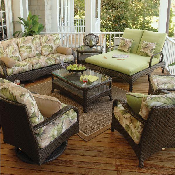 Furniture, Outdoor Wicker Patio Furniture