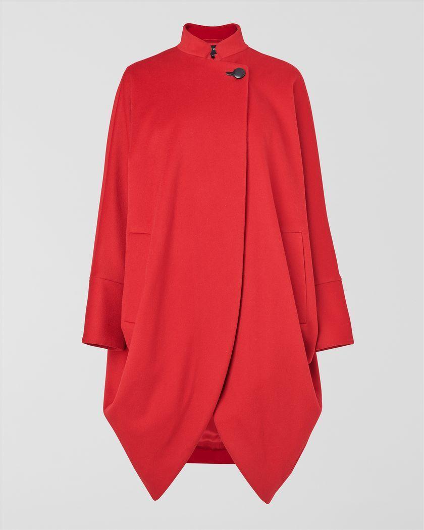 Drape Cocoon Coat