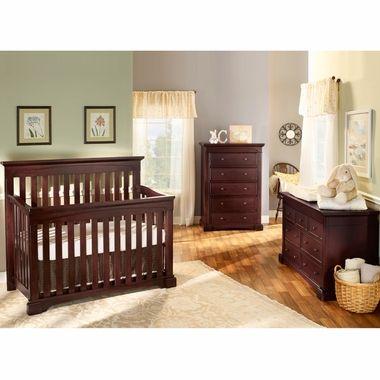 Westwood Design 3 Piece Nursery Set Kingston Convertible Crib Double Dresser And 5 Drawer Chest I Baby Furniture Sets Modern Bedroom Interior Bedroom Design