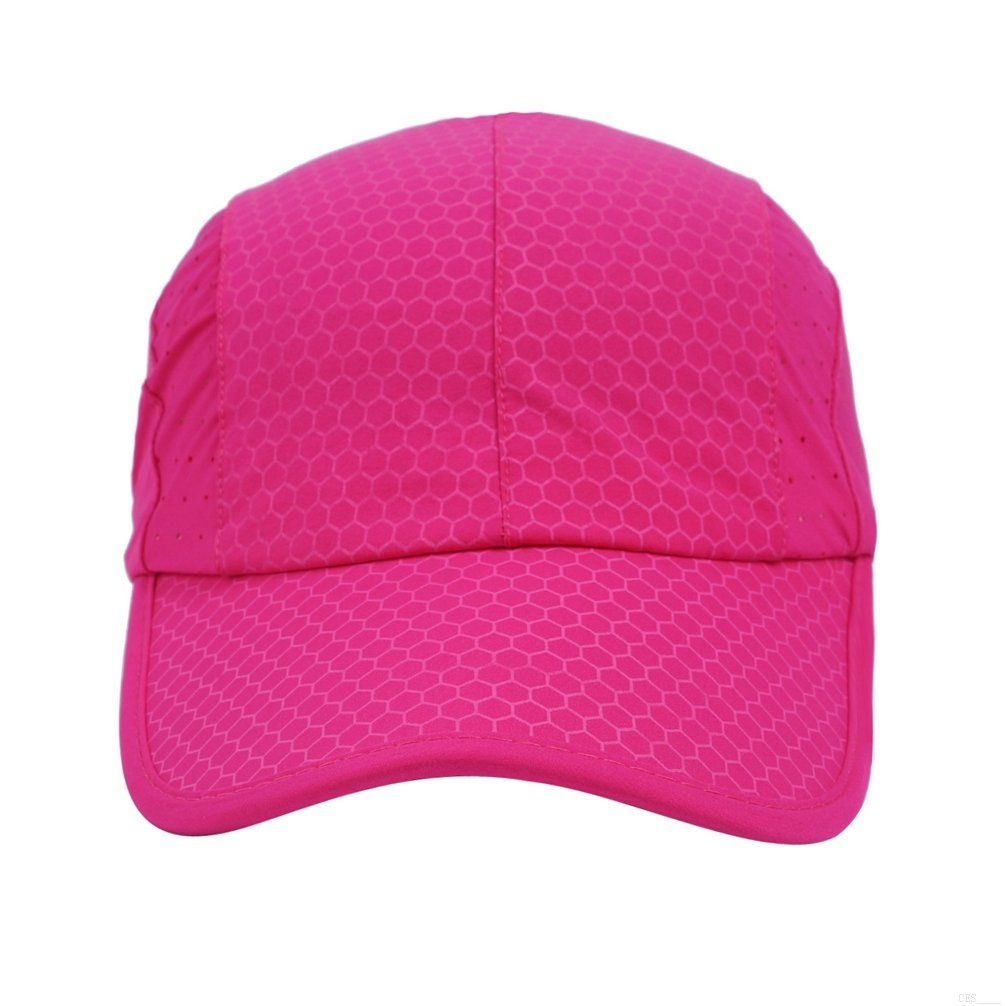 04b9ddb096f Women Golf Clothing     Sport capSoft Brim Race Day Running Hat Waterproof  Breathable Baseball Cap Elastic Quick Dry Caps Cooling Portable Sun Hats  Mesh for ...