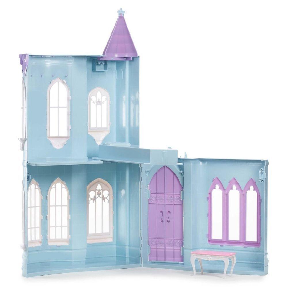 Moxie Girlz Princess Ice Castle Dolls House Blue Ice Castles # Web Muebles Jobe