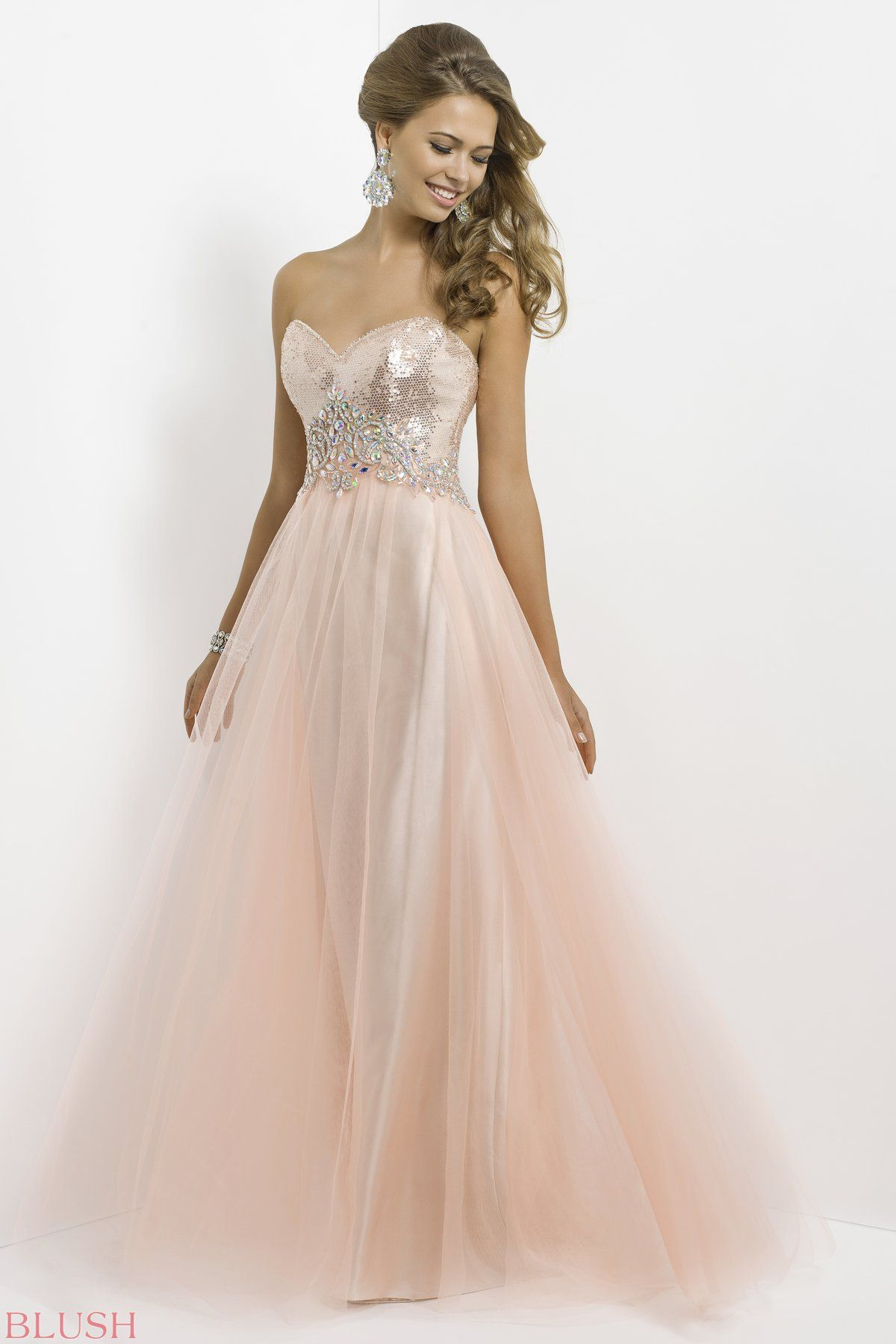 Blush prom dress season facebookthebridalconnection
