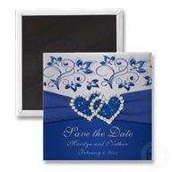 Royal Blue Wedding Invites Invitaciones De Boda En Azul