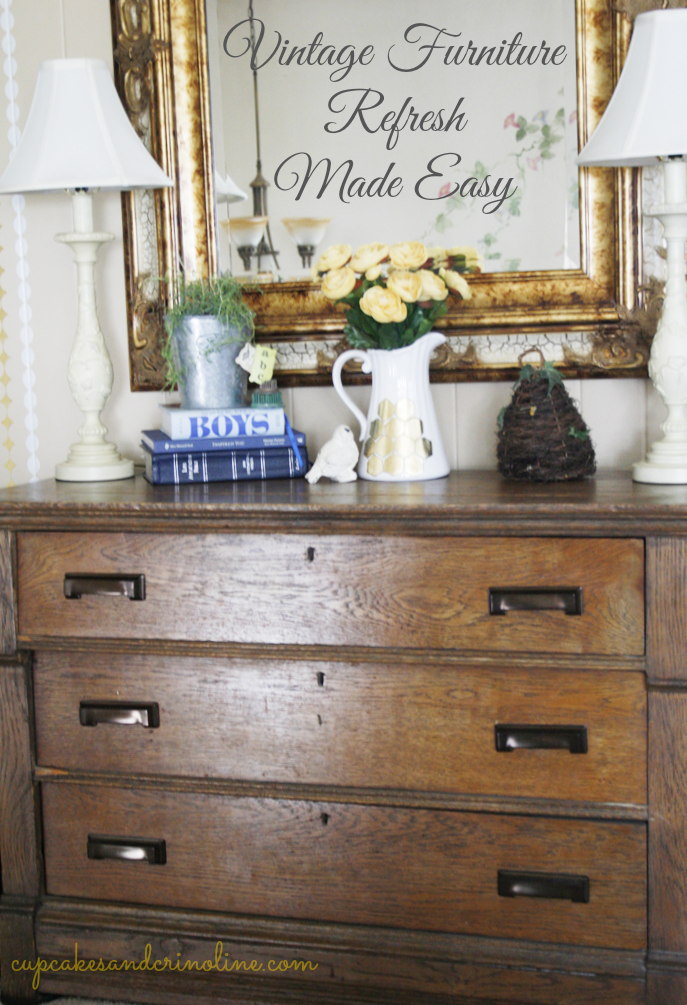 Vintage Furniture Refresh Made Easy Refinishing