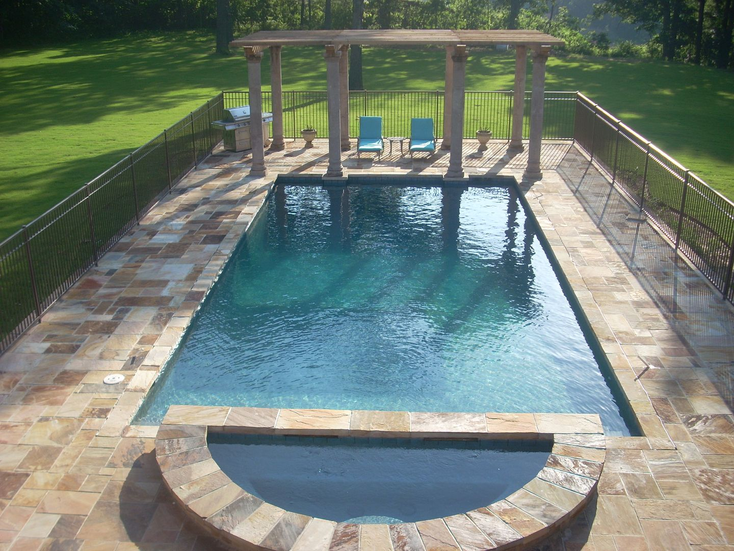 Pin By Swimming Pool Quotes On Tropical Poolscapes In Ar Pool Construction Swimming Pool Construction Custom Swimming Pool