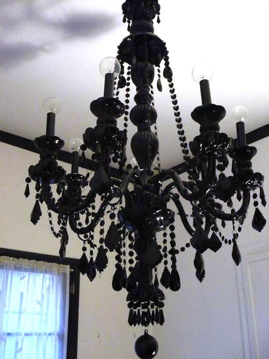 Chandelier Black Crystal: 17 Best images about Chandeliers on Pinterest | Gothic chandelier, Black  crystals and Goth,Lighting