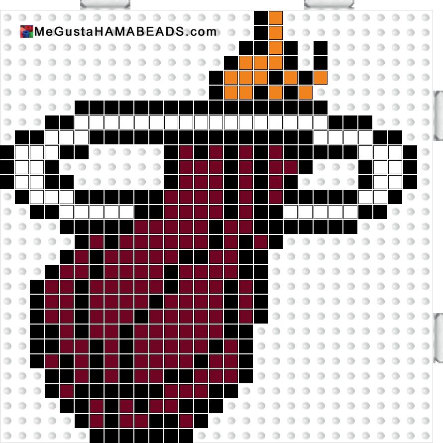 MeGustaHAMABEADS.com: Hama Beads NBA, Pesca Submarina y Llavero Escudo Elche CF