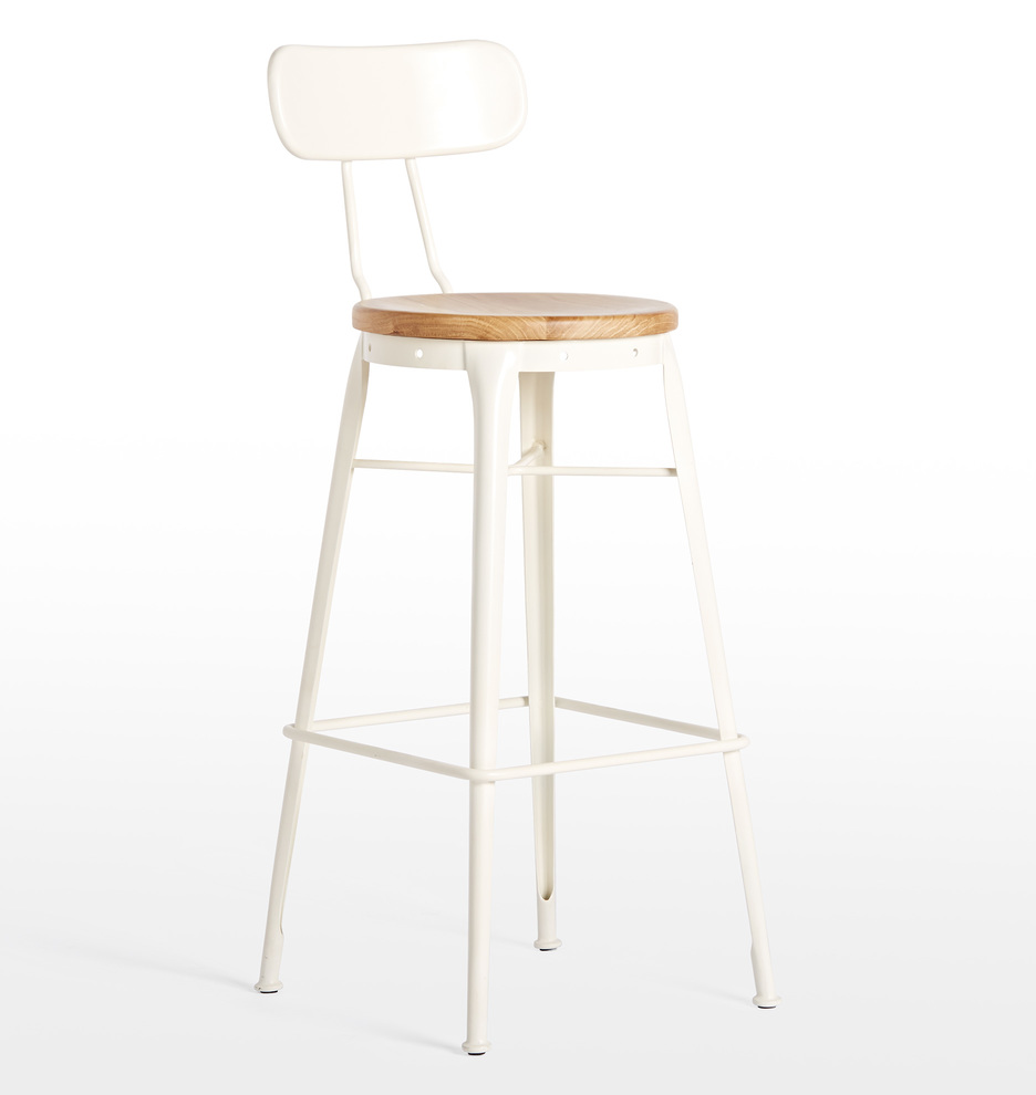 Cobb Bar Stool With Back Bar Stools With Backs Stools With