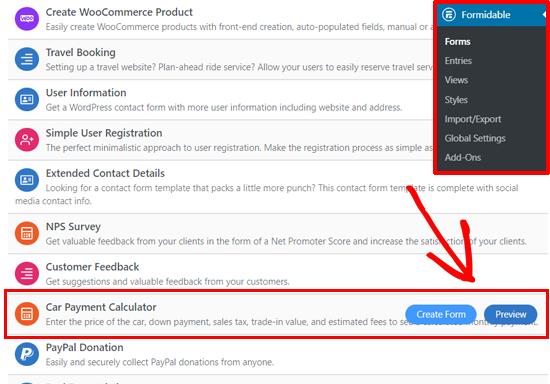 How To Create An Auto Loan Car Payment Calculator In Wordpress Car Payment Calculator Car Payment Car Loans