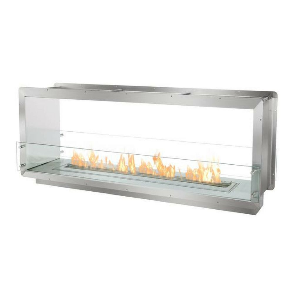 a double sided ethanol fireplace by ignis development the fb4800