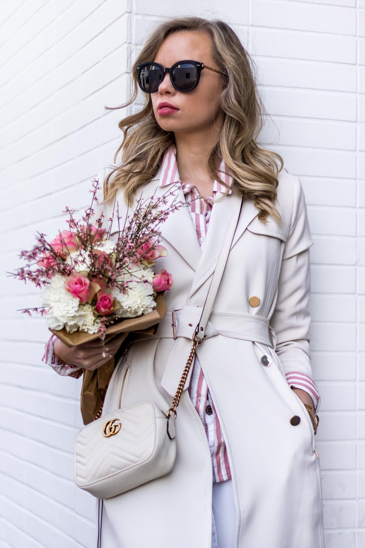 5e762521f60 All white Spring Outfit with trench coat