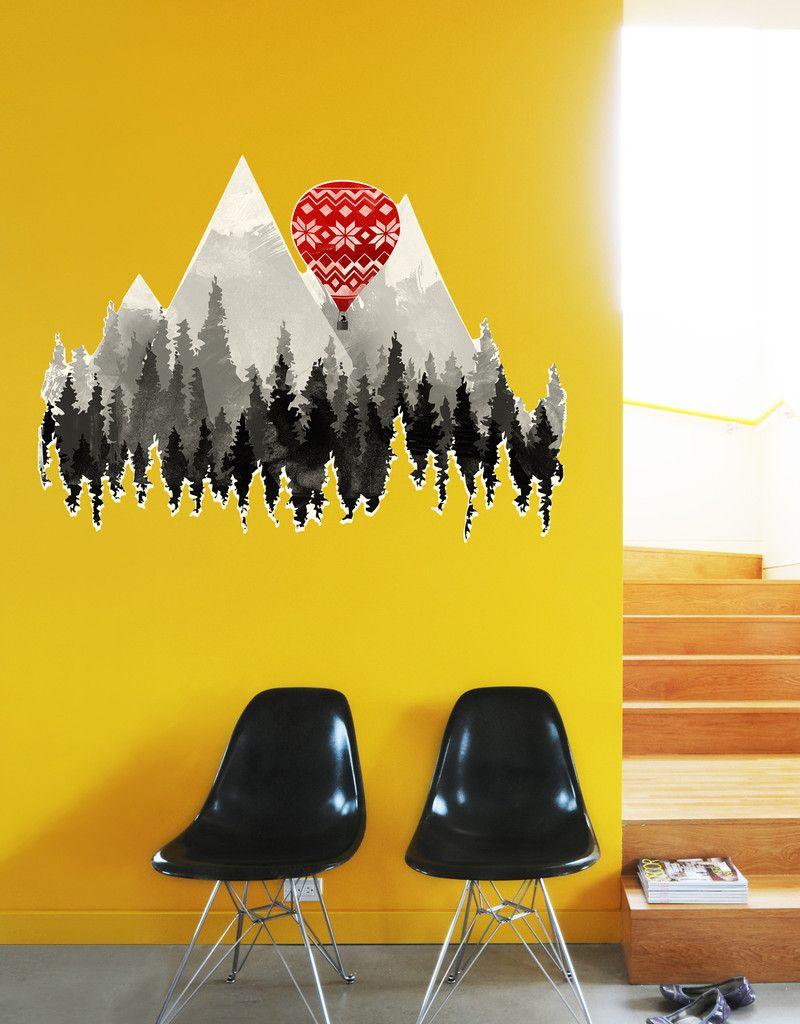 Grandma\'s Hot Air Balloon | Walls
